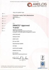 Taller PRINCE2® para Proyectos Emprendedores