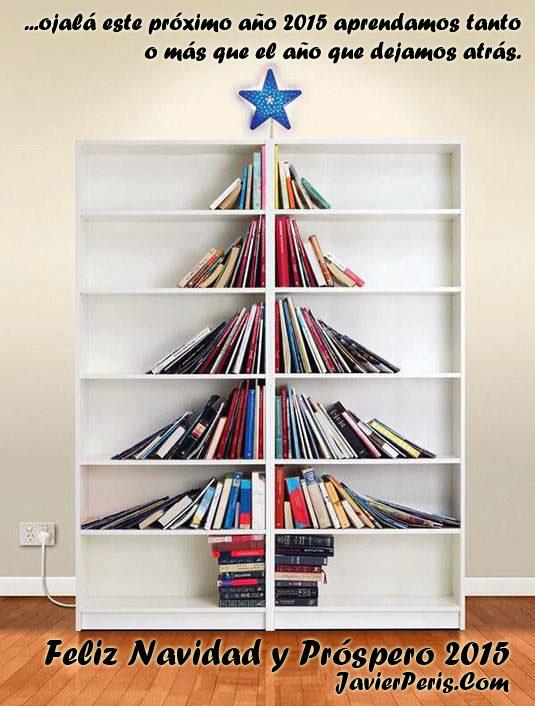 Feliz Navidad y Próspero 2015 os desea Javier Peris