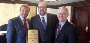 Premio Harold Weiss 2015 de ISACA Internacional a Javier Peris por sus logros sobresalientes en Gobierno de Tecnologías de la Información