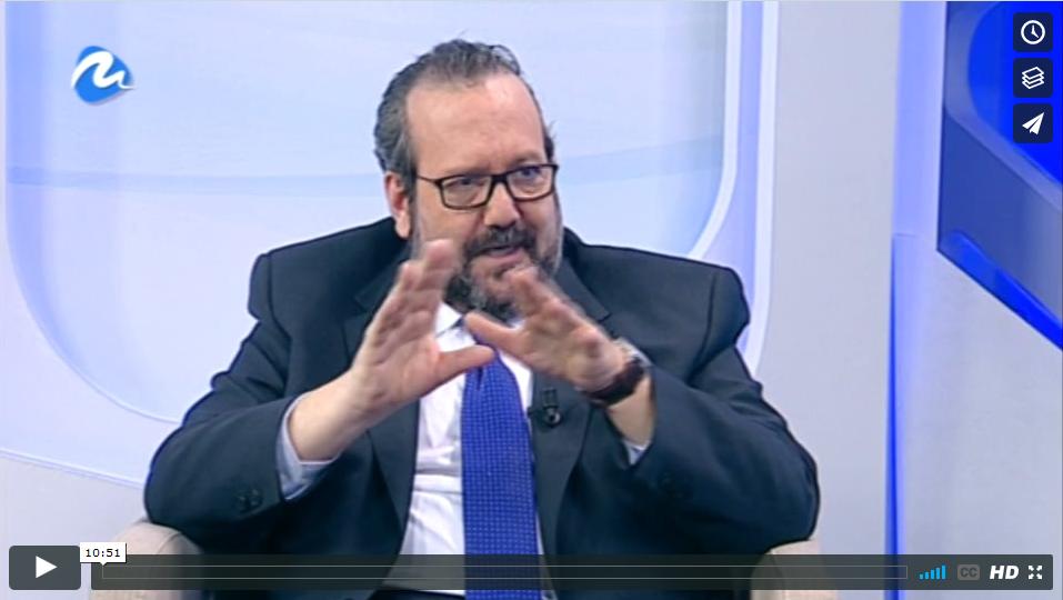 Javier Peris Entrevista en Directo en Televisión en el Programa El Faro de Mediterráneo Televisión con Motivo del Premio de ISACA International Harold Weiss 2015 por logros sobresalientes en Gobierno de Tecnologías de la Información
