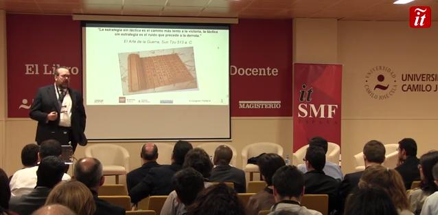 Javier Peris Conferencia en el Congreso de Gobierno de itSMF España bajo el título Hacia dónde debe Evolucionar el Gobierno TI para la Era Digital