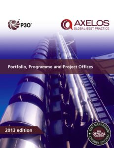 Portada Libro Oficial Curso Oficial Certificación P3O® Portfolio, Program & Project Offices con Javier Peris