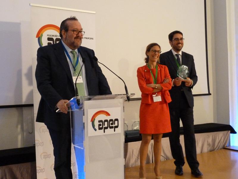 Javier Peris Premio Medio de Comunicación 2018 APEP
