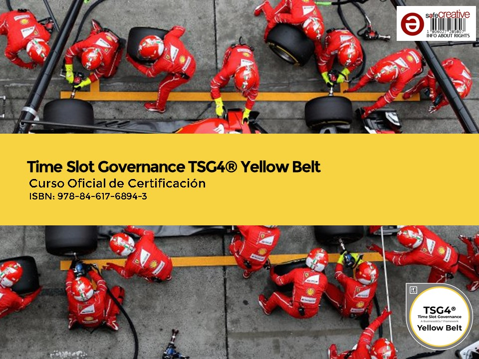 Curso Oficial de Certificación Time Slot Governance TSG4® Yellow Belt